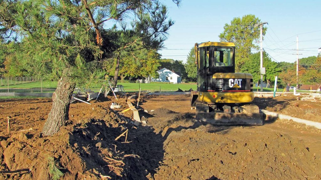 nj drainage yard grading services