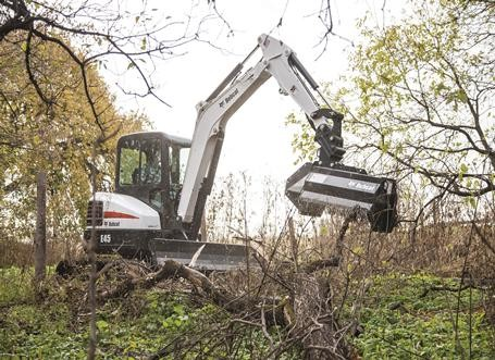 Tree and brush removal knepp excavating